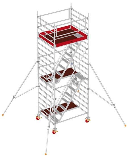 Kombi trappentoren 4m